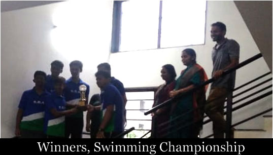 Winners, Swimming Championship