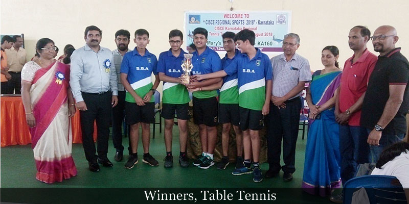 Winners, Table Tennis