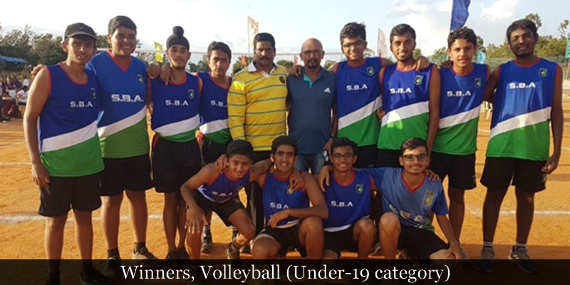 Winners, Volleyball (Under-19 category)